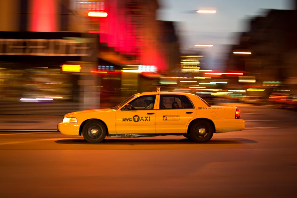 Taxi Manhattan New-York