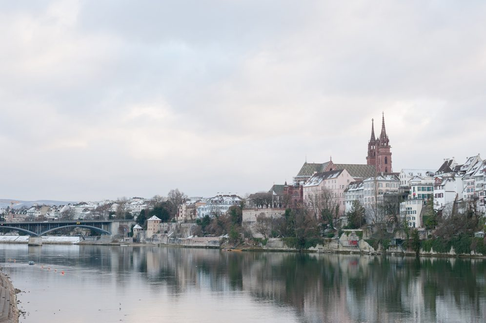 Cathédrale de Bâle Rhin Basel Suisse Swiss Switzerland
