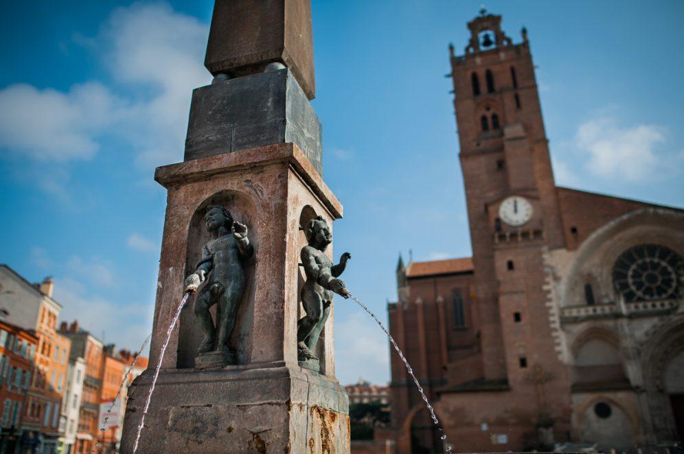 Toulouse cathédrale saint-etienne