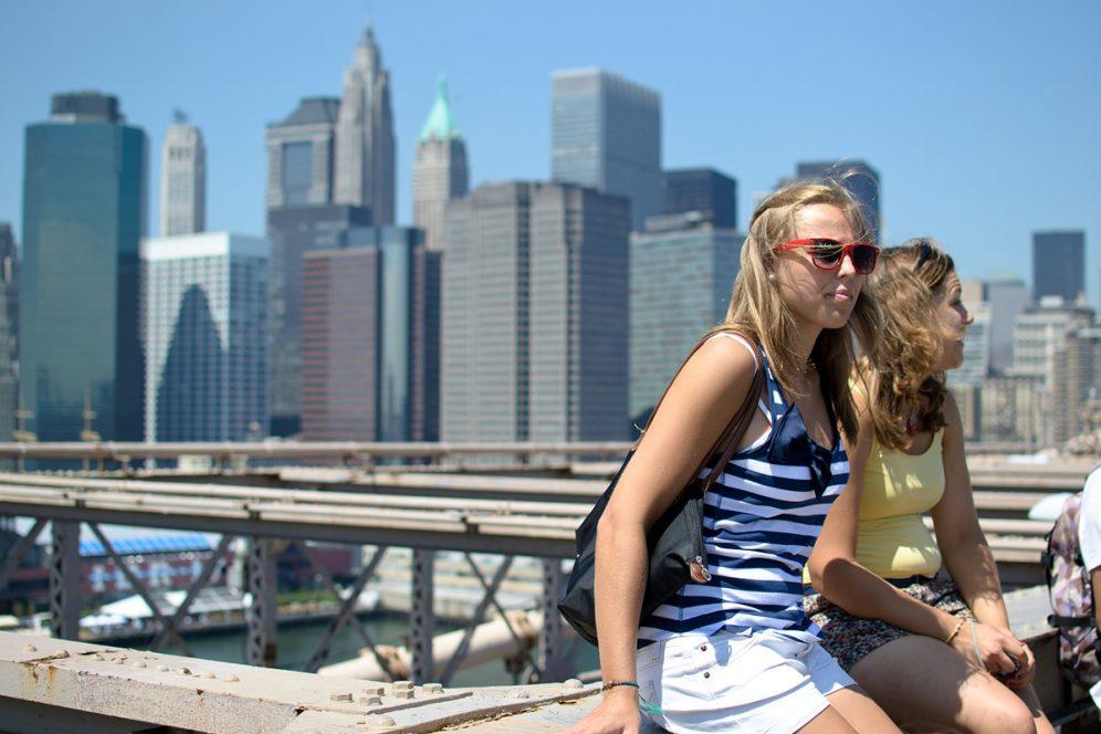 Brooklyn Bridge Manhattan New-York