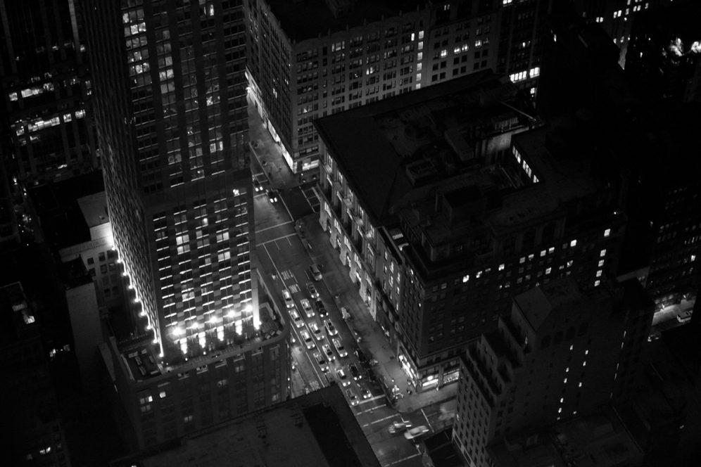 Vue depuis Building Manhattan New-York