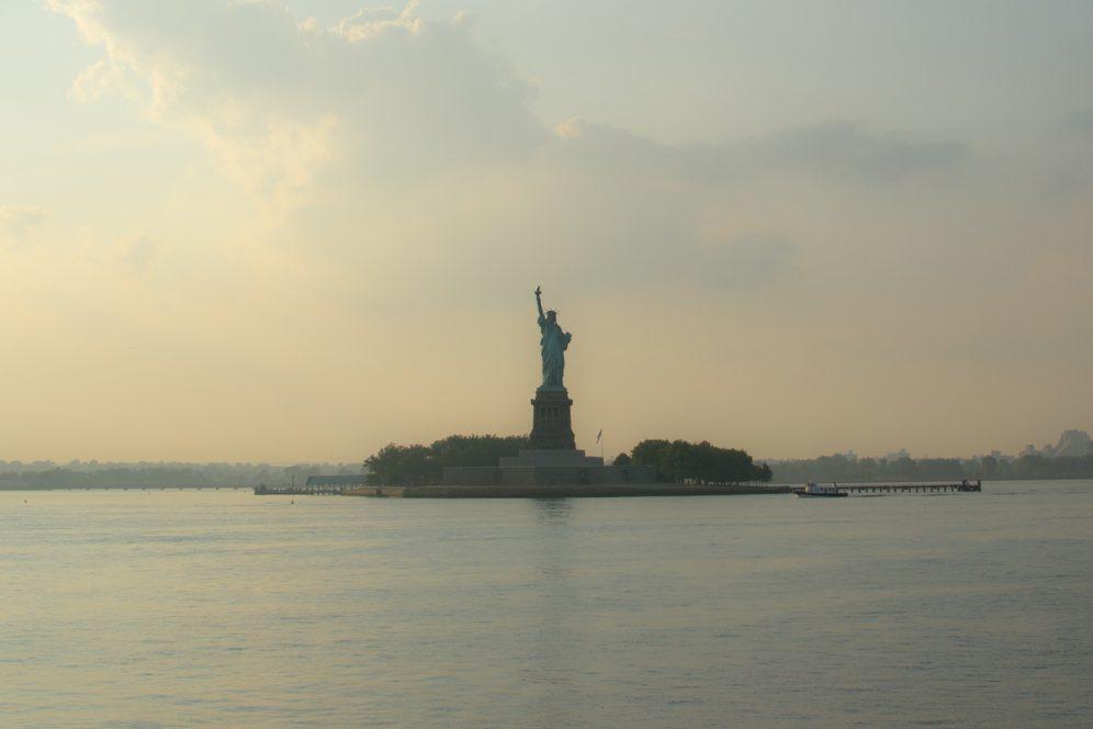 Liberty Island Manhattan New-York