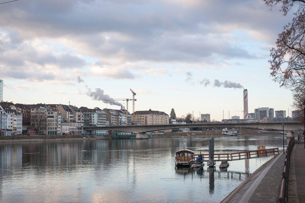Rhin Bâle Suisse Basel Swiss Switzerland