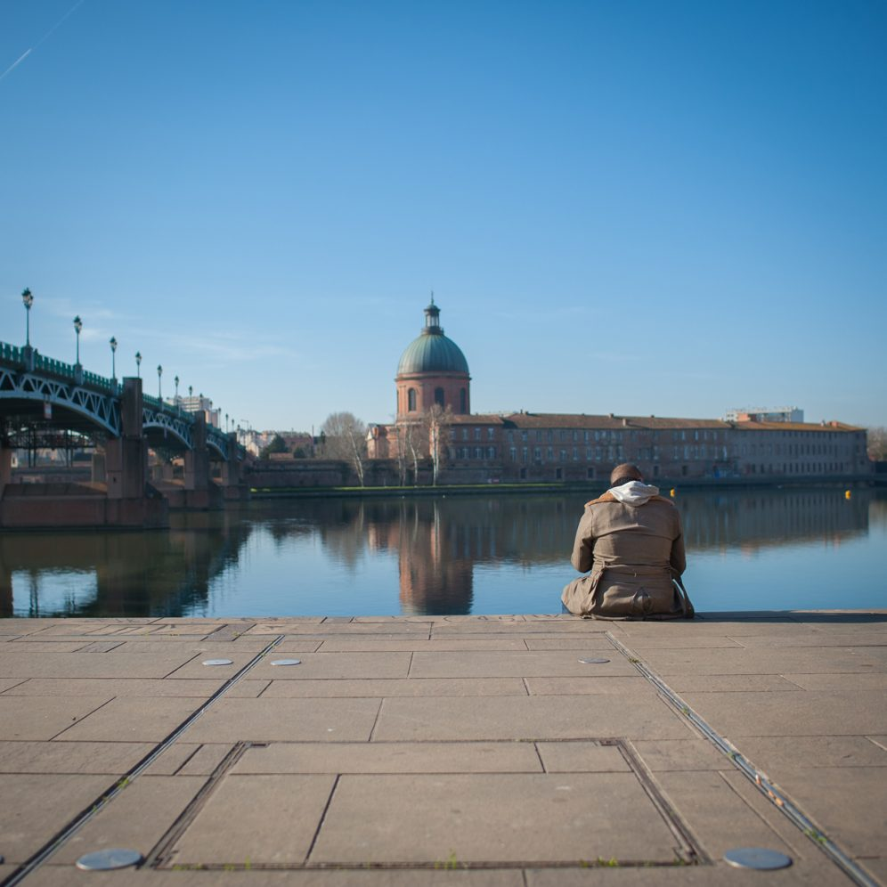 Toulouse Garonne pont saint-pierre