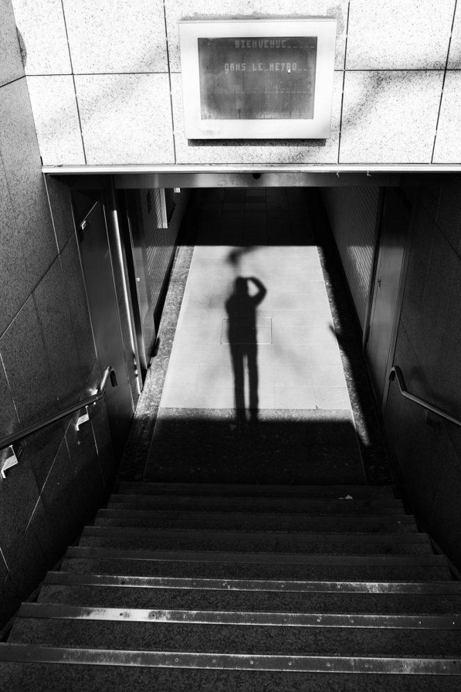 Metro toulouse photo noir et blanc B&W